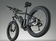 Fat Tire 48 V 500w  26' Kenda SAMSUNG Battery Mountain Electric E Bike Bicycle