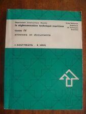 ENSTA 379~REGLEMENTATION TECHNIQUE MARITIME-T IV-ANNEXES & DOCUMENTS~GOUTTERATEL
