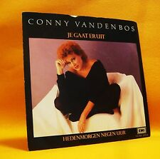 "7"" Single Vinyl 45 Conny Vandenbos Je Gaat Er Uit 2TR 1983 (MINT) Pop MEGA RARE"
