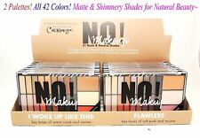 Cherimoya NUDE & NATURAL Eye Shadow Palettes- Full Size 2 Palettes- 42 Colors!