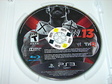 WWE '13  (Sony Ps3 Playstation 3)  DISC ONLY!   ***VERY NICE***