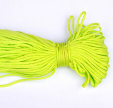 100FT/32m Multi III Stand 7 Cores 550 Paracord Parachute Cord Lanyard #27Green