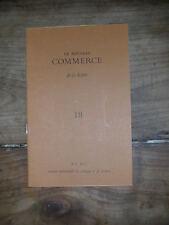 Le nouveau commerce de la lecture N°18 HEINRICH BOLL QINGZHAO VESAAS SZONDI