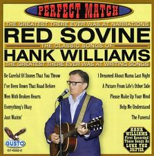 Perfect Match-Songs Of Hank Williams - Red Sovine (2004, CD NEUF)