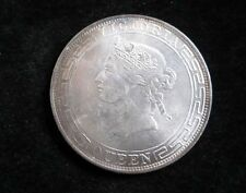 CHINA.HONG KONG. Dollar 1866 Silver Coin Silver Dollar