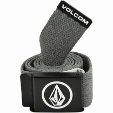 Volcom Circle Web Belt - Charcoal - ActionSports