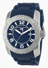 Swiss Legend Mens Watch Commander Stainless Steel Silicone 20068-03SET Blue