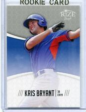 2014  Rize Draft Baseball Card Kris Bryant ROOKIE Chicago Cubs  MINT # 5