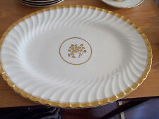 "MINTON Gold Rose - 12"" Oval Serving Platter"