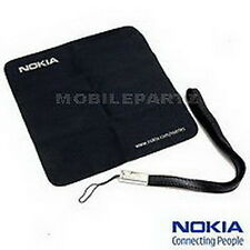 Genuine Nokia Black Carry Strap & Lens Cleaning Cloth for Nokia Mobile Phones