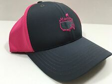 2016 MASTERS GREY PINK PERFORMANCE GOLF HAT FROM AUGUSTA NATIONAL CADDIE NEW