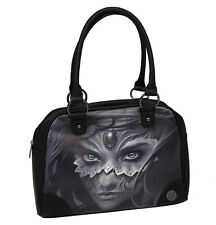 Sullen Athena Bowler Handbag Black tattoo pinup girl rockabilly purse bag ink sa