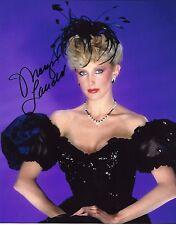 Morgan Fairchild Signed 8x10 Photo - FRIENDS Actress & Dallas Babe -SEXY! H251
