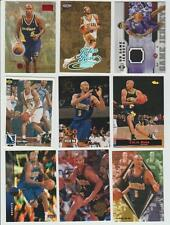 Jalen Rose 1996-97 SKYBOX RUBY RED INSERT ROKKIE LOT (12) & JERSEY CARD