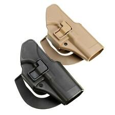 Tactical Hunting Airsoft  Paddel Holster Belt For Glock 17 19 22 23  Tan Black