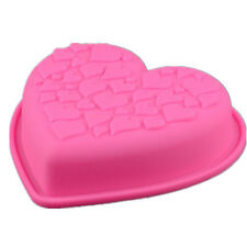 Non Stick Love Heart Shape Silicone Cake Mold Pastry Chocolate Bread Baking Tool