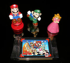 Applause Nintendo PVC Figures Super Mario Bros HAPPY MEAL MARIO LUIGI PRINCESS