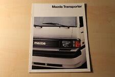 00178) Mazda E 2000 2200 Prospekt 02/1992