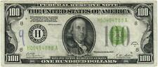 Series Of 1928-A $100 Federal Reserve Note Fr. 2151-H Fine