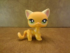 Littlest Pet Shop #525 Cat Kitten Green Eyes LPS