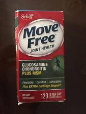 Move Free Joint Health Advanced Glucosamine Chondroitin Plus MSM, 120 Tablets