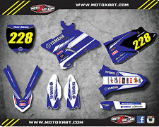 Full Custom Graphics Kit Yamaha YZ 250 PREMIERE STYLE 2015 - 2016 models decals