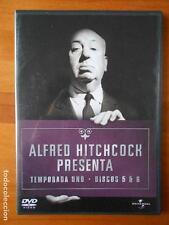 DVD ALFRED HITCHCOCK PRESENTA - TEMPORADA UNO - DISCOS 5 Y 6 (11 EPISODIOS) (I5)