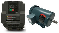 MOTOR & VFD PACKAGE 1.5 HP 1800 RPM TEFC RELIANCE MOTOR WITH 2HP 230V TECO DRIVE