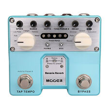 Mooer Reverie Reverb Twin Series Digital Reverb Guitar Effects Stompbox Pedal