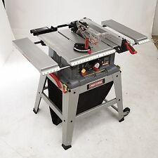 "Craftsman 10"" Table Saw Precision Speed Laser Trac Metal Shop Garage Mechanic"