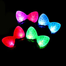 Festival LED Blinking Lighting Up Bow Minnie Headband Flashing light Hair Band