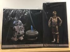 C-3PO & R2-D2 | 1:6 Scale | Sideshow Collectibles **FREE POSTAGE**