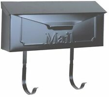 PostMaster Townhouse Horizontal Wall-Mount Mailbox Steel Decorative Daisies NEW