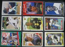 9 Baseball Cards in Sleeve Mostly Barry Bonds Pittsburgh Pirates Card Collection