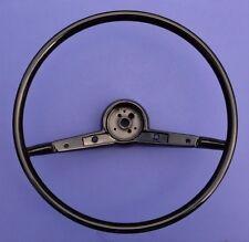 """1957 Chevy 210 & Bel Air 16"""" Steering Wheel Black"""