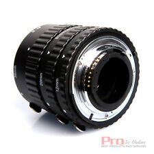 Meike Metal AF Auto Focus Macro Extension Tube Set FOR nikon d7000 d60 d700 d800