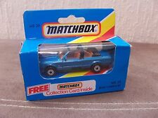 MATCHBOX SUPERFAST MB-39 BMW 323i CABRIOLET MINT MODEL IN OPENED BOX