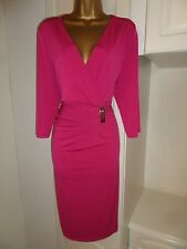 """GORGEOUS UNLINED DRESS BY SAVOIR IN VG CON  SIZE UK 20 BUST 46"""""""