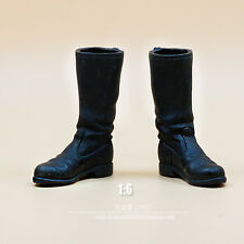 """1/6 Scale World War II German Army Boots Black For 12"""" Soldier Figure"""