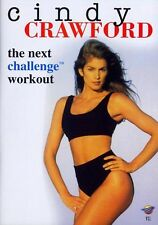CINDY CRAWFORD - The Next Challenge Workout DVD (German Version) New & Sealed