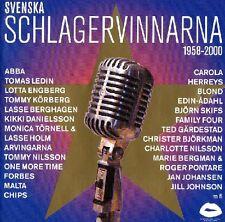 2 CD Svenska Schlagervinnarna 1958-2000 Melodifestivalen,Eurovision,Schweden