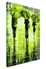 3 UMBRELLAS BY LEONID AFREMOV FRAMED CANVAS PRINTS WALL PICTURES PORTRAIT POSTER
