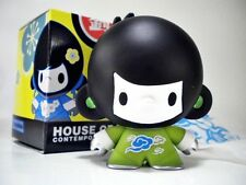 House of Liu Contemporary - GREEN BABY DI DI boy -Toy Figure Vinyl, Ninja