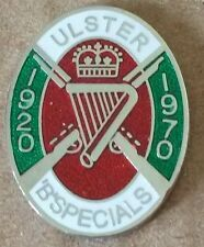 B specials lapel badge RUC UDR RIR loyalist orange order ulster northern ireland