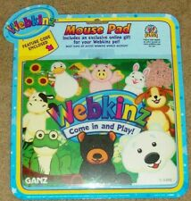 Webkinz Mouse Pad with Code Features Polar Bear Google Cocker Spaniel
