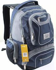 JEEP BACKPACK RUCKSACK CABIN HAND LUGGAGE TRAVEL HIKING LAPTOP SCHOOL BAG BLUE