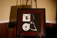 SEAL PROMOTIONAL FLAT POSTER / CD AUTOGRAPHED / SIGNED & PROFESSIONALLY FRAMED!