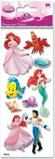 Jolee's Disney LITTLE MERMAID Stickers ARIEL FLOUNDER SEBASTIAN PRINCESS PRINCE