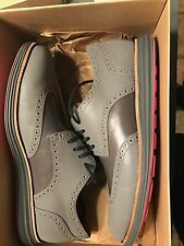 NEW VNDS Men's Nike Cole Haan Fragment Wingtip LunarGrand 3M Size 11 Grey