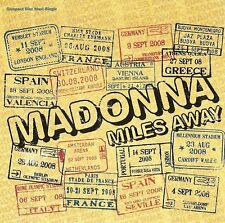 MADONNA - MILES AWAY - CD SINGLE NEW UNPLAYED 2008 - 2 TRACKS MADE IN EU